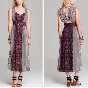 8 Free People Mayan Midnight Temple Maxi Dress